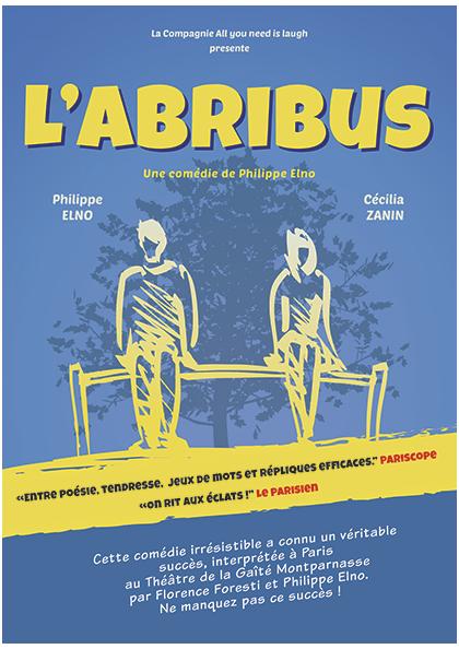 L'abribus de Philippe Elno théâtre Perpignan