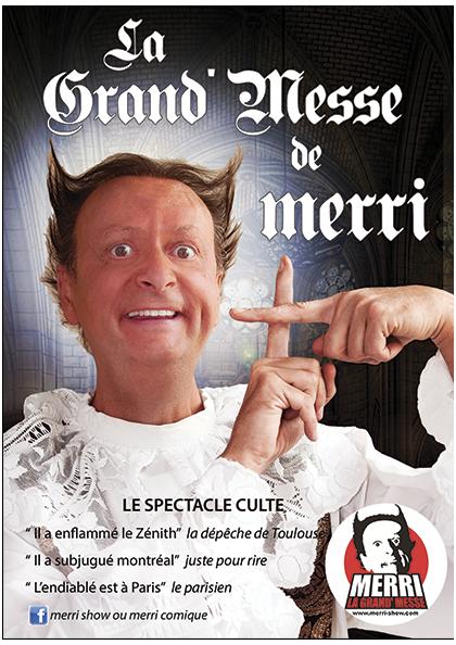 La Grand' Messe de Merri théâtre Perpignan