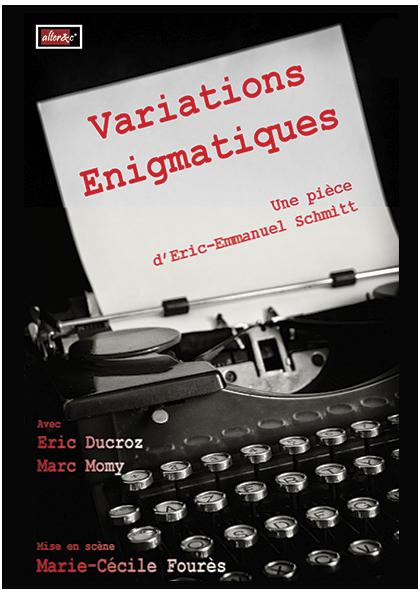 Variations énigmatiques théâtre Perpignan