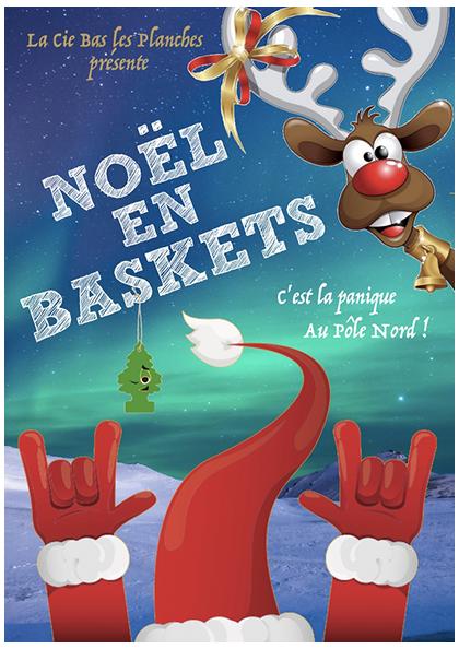 Affiche du spectacle Noël en baskets
