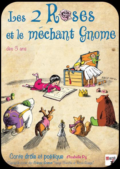 affiche-spectacle-les-2-roses-et-le-mechant-gnome